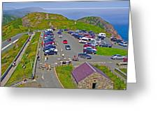 Signal Hill National Historic Site In Saint John's-nl Greeting Card