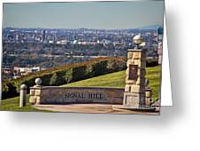 Signal Hill Greeting Card