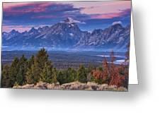 Signal Mountain Sunrise Greeting Card