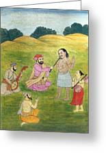 Sikh Painting Greeting Card