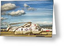 Sikorsky Sh-60b Seahawk Helicopter Greeting Card