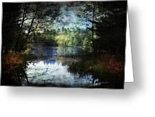 Silent Lake Ludington Michigan Greeting Card