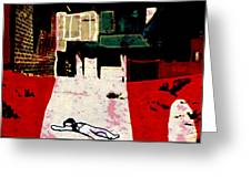 silent place Nr.5 Greeting Card