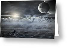Silent Rise Greeting Card