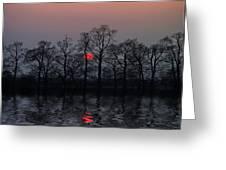 Silent Sun Greeting Card