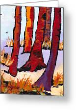 Silent Woods Greeting Card