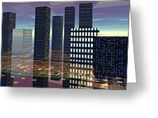 Silicon City Greeting Card
