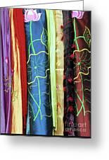 Silk Fabric 01 Greeting Card