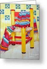 Silla De La Cocina--kitchen Chair Greeting Card