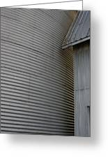 Silo Structure Greeting Card