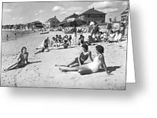 Silver Beach On Cape Cod Greeting Card