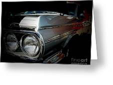 Silver Buick Greeting Card