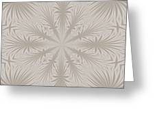 Silver Drapery Greeting Card