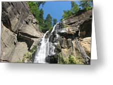 Silver Falls View II Greeting Card