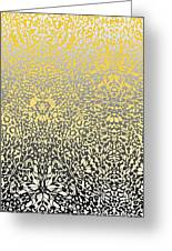 Silver Lace Frost Greeting Card