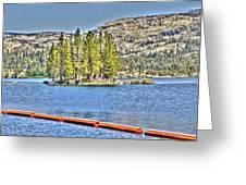 Silver Lake 2 Greeting Card