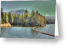 Silver Lake 3 Greeting Card