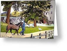 Silver Lake Mill-shenandoah Valley Greeting Card