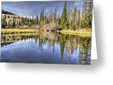 Silver Lake Utah Greeting Card