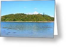 Silver Sands Of Morar Panorama Greeting Card