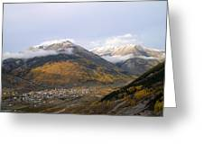 Silverton Colorado Greeting Card