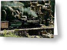 Silverton Steam Locomotive  Greeting Card