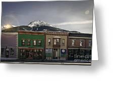 Silverton Street Scene Greeting Card
