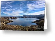 Silverwood Lake Greeting Card