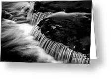 Silvery Falls Greeting Card