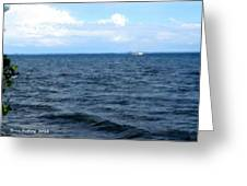 Silvias Ocean View Greeting Card