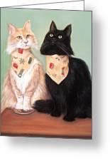 Simon And Magic Greeting Card by Melodye Whitaker