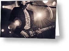 Simon Mcbride In Concert 2 Greeting Card