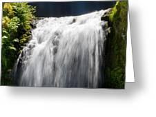 Simple Falls Greeting Card