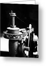 Simple Machinery Greeting Card