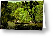Simpler Times - Central Park - Nyc Greeting Card