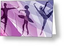 Simply Dancing 1 Greeting Card