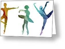 Simply Dancing 3 Greeting Card