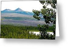 Simpson Peak At Swan Lake-yt Greeting Card