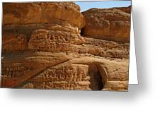 Sinai Desert Egypt  Greeting Card