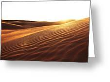 Sinai Sand Sea Greeting Card