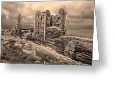 Sinclair Castle Scotland - 2 Greeting Card