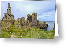 Sinclair Castle Scotland - 3 Greeting Card