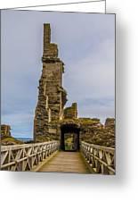 Sinclair Castle Scotland - 6 Greeting Card