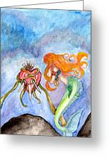 Sindaria Of The Seven Sorrows  Greeting Card