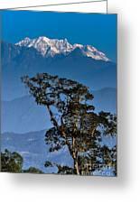 Singalila Ridge Sikkim Greeting Card