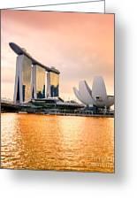 Singapore - Marina Bay Sand Greeting Card