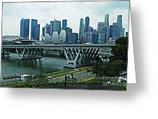 Singapore 14 Greeting Card