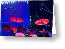 Singapore Drum Set 01 Greeting Card