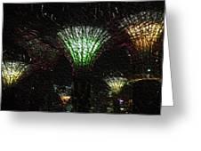 Singapore Lights Greeting Card