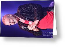 Singer Andy  Bell Greeting Card